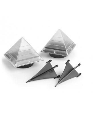 Solar LED Pyramids set 2