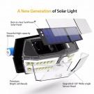 LED Solárne osvetlenie s pohybovým senzorom