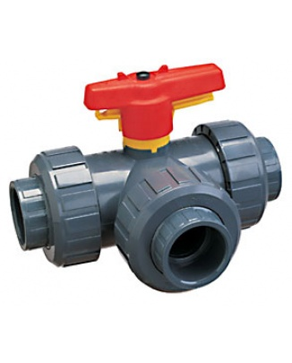 PVC 3-cestný ventil 63mm