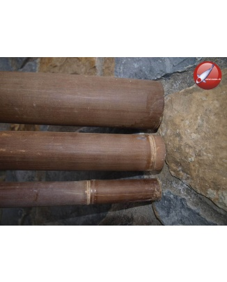 Tyč z tmavého bambusu Ø8cm
