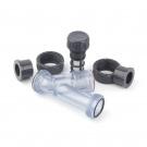 PVC Priesvitný trubkový filter 25mm