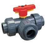 PVC 3-cestný ventil 32mm