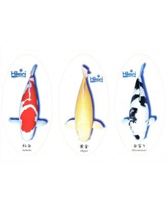 Nálepky Hikari V3