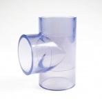PVC Priesvitný T-kus 25 mm 90°