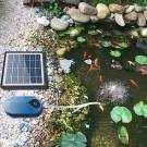 Solárny okysličovač vody