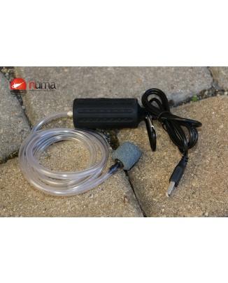 Prenosný USB 12V vzduchovaci motorček
