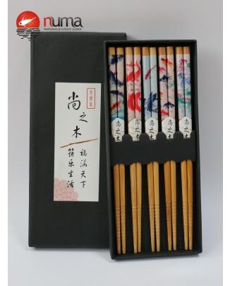 Japonské bambusové paličky