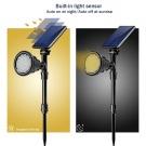 Záhradné solárne osvetlenie 18 LED