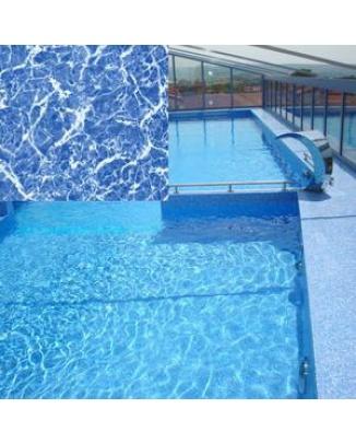 Bazénova fólia Marlbe Blue