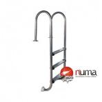 Nerezový rebrík 3 stupňový rovný