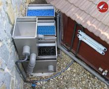 zapojenie filtrácie jazierka
